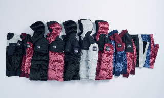The North Face Debuts '90s-Flavored Velvet Collection