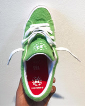 Golf Le Fleur X Converse One Star Grinch Release Information