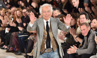 Ralph Lauren Is the First American Fashion Designer to Receive Honorary Knighthood
