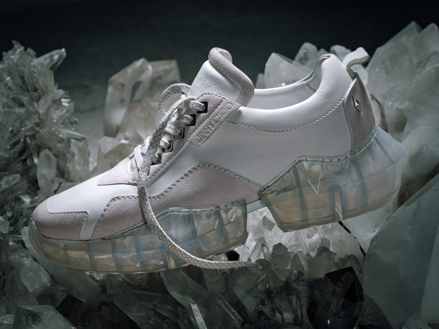 Jimmy Choo Drops a Deluxe Sneaker Inspired by Diamonds