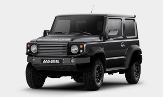 Sleek Body Kit Turns the Suzuki Jimny Into a Land Rover Defender