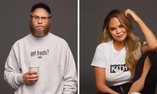 "KITH Treats Recreates Iconic ""got milk?"" Campaign With Seth Rogan & Chrissy Teigen"