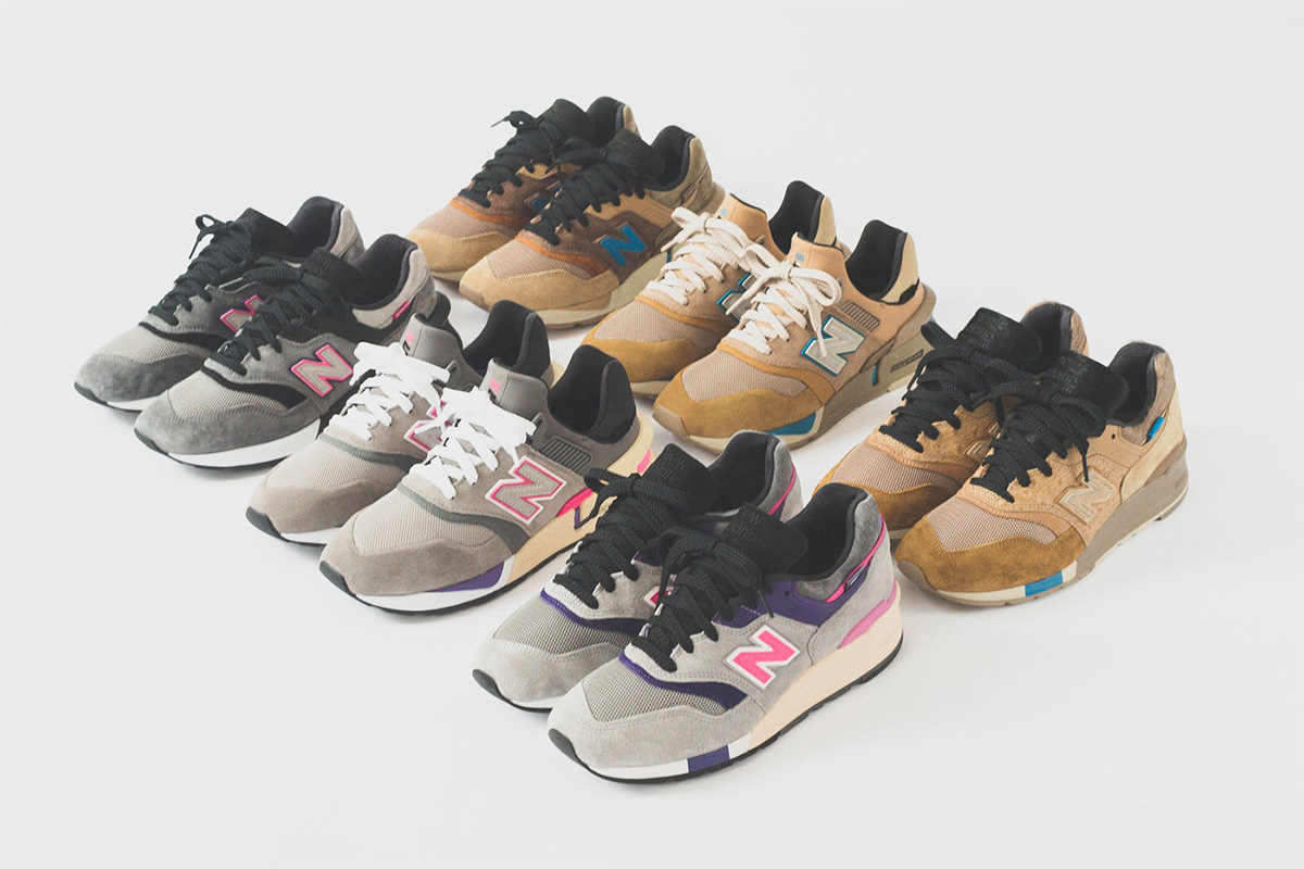 Ronnie Fieg Unveils Six Colorways For KITH x New Balance Collaboration