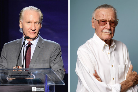 Bill Maher Believes Stan Lee's Comic Books Led To President Trump's Election