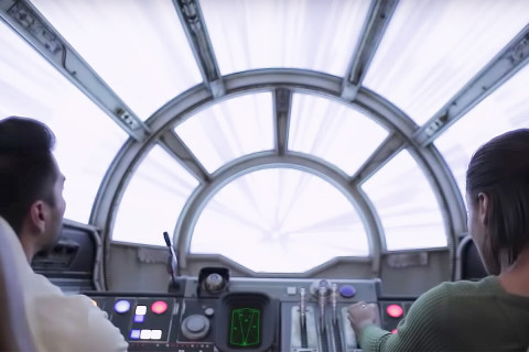 You Can Fly the Millennium Falcon at Disney's New 'Star Wars' Theme Park
