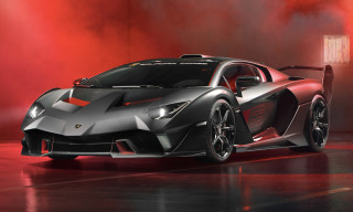 Lamborghini's Racing Arm Unveils Ferocious Street-Legal Track Car