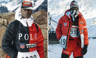 Ralph Lauren Debuts '92 Polo Stadium-Inspired Winter Collection