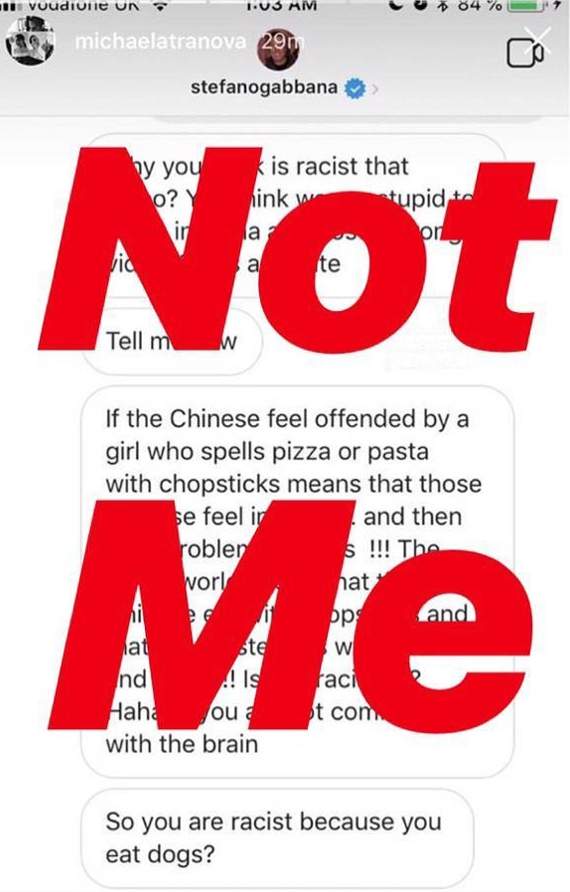 ba9441dda44e Dolce   Gabbana Issues Apology to China After Racism Accusations