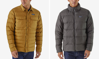 Patagonia's New Silent Down Jackets Are Made From Recycled Materials