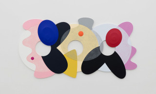 """Josh Sperling's """"Two Purple Tigers"""" Exhibition Plays With Dimension & Color"""