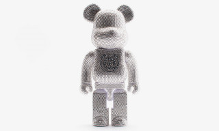 Medicom Toy Has Released a Drippy New Swarovski-Embellished Be@rbrick