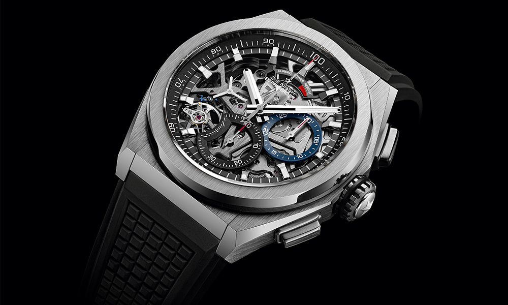 Zenith's Defy El Primero 21 Titanium Timepiece is the Ultimate Flex