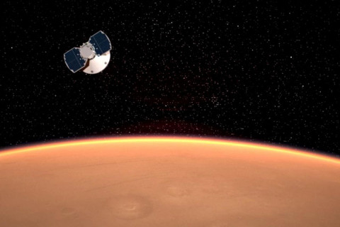 'Six and a half minutes of terror' before Mars landing