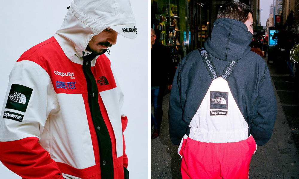 4434fbe543 Supreme x The North Face Drop Expedition Collection