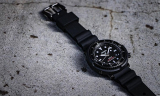 Freemans Sporting Club & Seiko Join for New Prospex Diver Scuba Watch