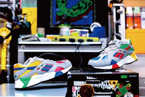 b78559f4e75478 BILLY S Debuts Colorful  90s Gaming-Inspired Reebok Aztrek