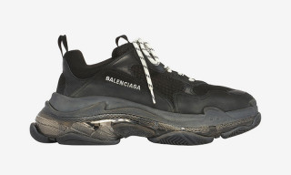 Balenciaga Adds a Clear Sole to the Triple S