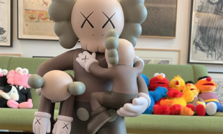 "KAWS Teases New ""CLEAN SLATE"" Companion Figure"