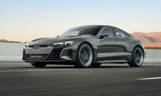 Audi Debuts Tesla Rival With 590-Horsepower Electric E-Tron GT Concept