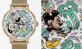 Steven Harrington Designs Limited Edition Nixon Mickey Mouse Watches
