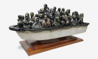 Banksy Is Raffling a Giant Sculpture for $2.50