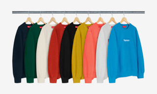 Here's How Quickly Supreme's FW18 Box Logo Crewnecks Sold Out
