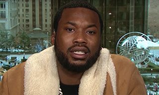 "Meek Mill Talks Jay-Z's ""What's Free"" Verse, Kanye West & Prison Reform on CNN"