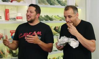 Impractical Jokers Talk Jordans & Eat Sandwiches on 'Sneaker Shopping'