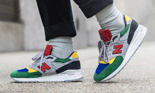 Todd Snyder & New Balance's 998 Collab Is a Technicolor Triumph