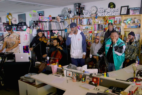 Wu-Tang Clan Celebrates 25 Years of '36 Chambers' With Tiny Desk Concert