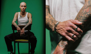 Spencer Hamilton Models the New Maple x BEAMS Japan Jewelry Line