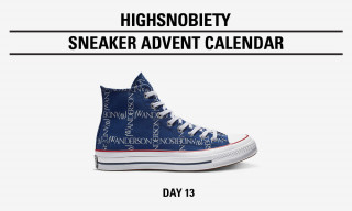"Win the JW Anderson x Converse Chuck 70 ""Grid"" Pack in Today's Highsnobiety Advent Calendar"