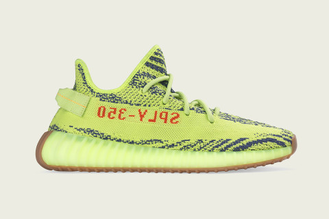"""Resell Prices of the """"Semi Frozen Yellow"""" YEEZY Boost 350 V2 Have Dropped  Post-Restock 24d1a3bfde8b"""