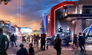 Disney Shares Official Concept Art for New Marvel Theme Park