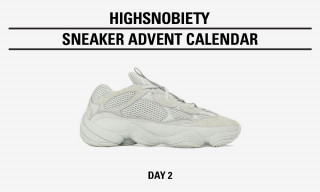 "Win the adidas Originals YEEZY 500 ""Salt"" in Today's Highsnobiety Advent Calendar"