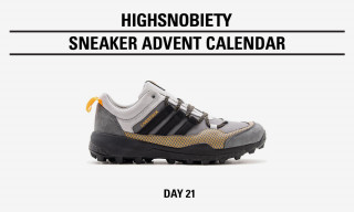 Win the Livestock x adidas Consortium Terrex Skychaser in Today's Highsnobiety Advent Calendar