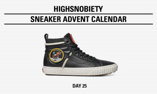 Win the Black NASA x Vans Sk8-Hi in Today's Highsnobiety Advent Calendar