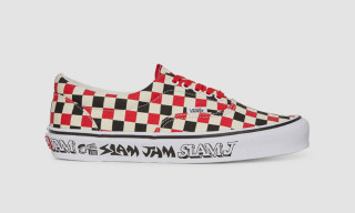 This Slam Jam Vans Era Features Fergadelic-Designed Branding