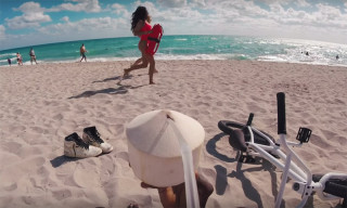 Nigel Sylvester Bikes Past DJ Khaled & J Balvin in Miami in New 'GO' Video