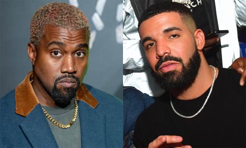 Image result for Drake and Kanye west
