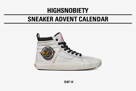 Win the NASA x Vans Sk8-Hi in Today's Highsnobiety Advent Calendar