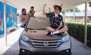 "Cuco Loves the Honda ""CR-V"" in His New Music Video"