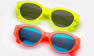 RETROSUPERFUTURE & Midnight Rave Collab on Neon Sunglasses