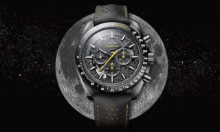 "Omega's New ""Dark Side of the Moon"" Speedmaster Celebrates Apollo 8"