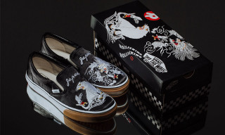 "Supreme   Vans Are Dropping Their ""666"" Slip-On Collaboration ... b1349e30f"