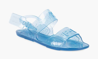 OFF-WHITE's Signature Zip-Tie Appears on New Jelly Sandals