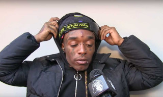 Lil Uzi Vert Runs Away From Nardwuar in New Interview