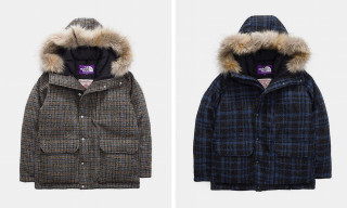 The North Face Purple Label Debuts Harris Tweed Parkas