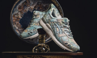 "Here's How to Cop the atmos x ASICS GEL-Lyte 3 ""World Map"""