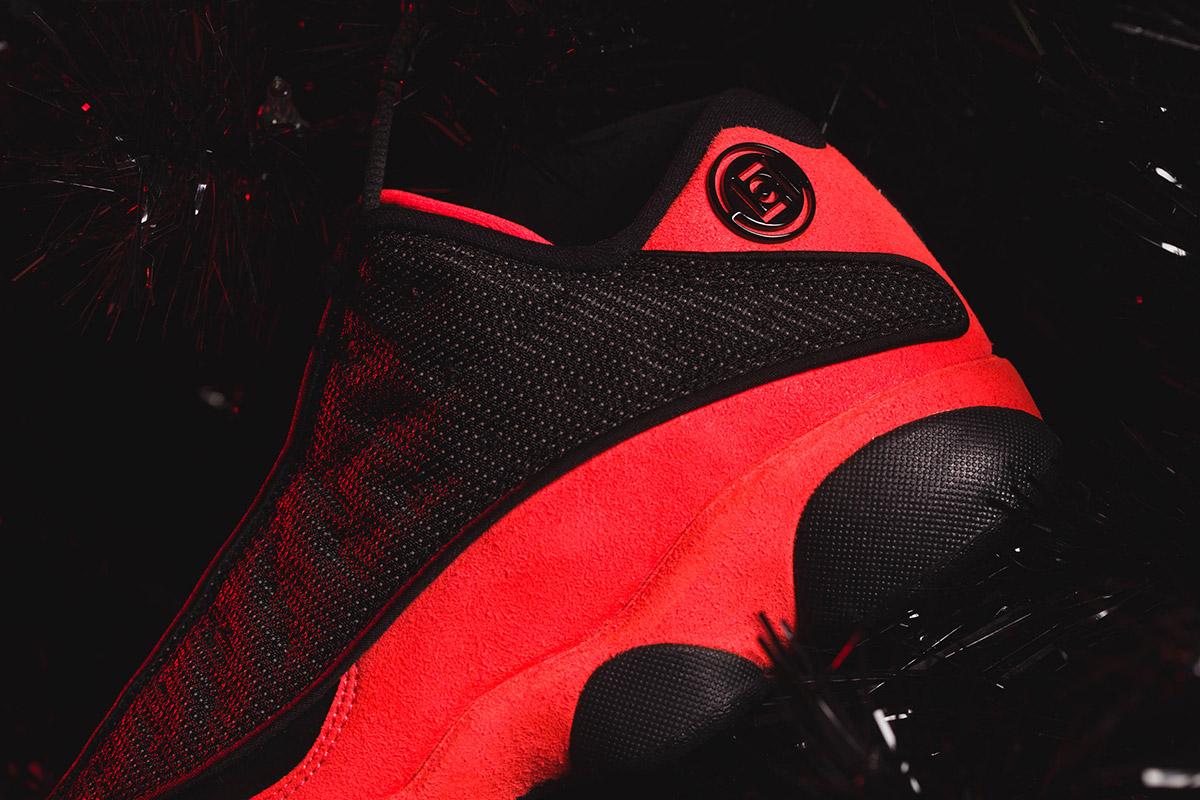 "e197f639e9c1 CLOT Unveils Its Friends   Family Air Jordan 13 Low ""Infra-Bred ..."